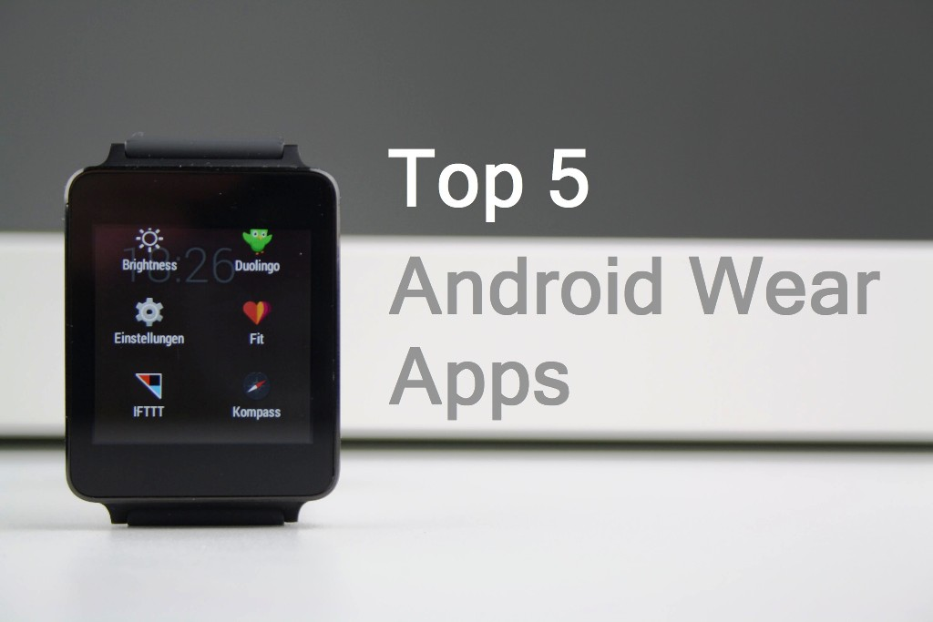 Top 5 Android Wear apps